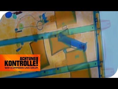Waffen im Gepäck: Ist es ein BUTTERFLYMESSER? | Achtung Kontrolle  | kabel eins