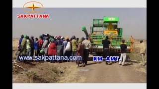 SAKPATTANA combine harvester in Africa(1)/WORLD'S AGRICULTURAL MACHINERY