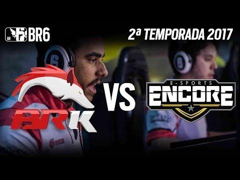 [BR6] BRK vs ENCORE - Grupo A (2ª Temporada 2017)