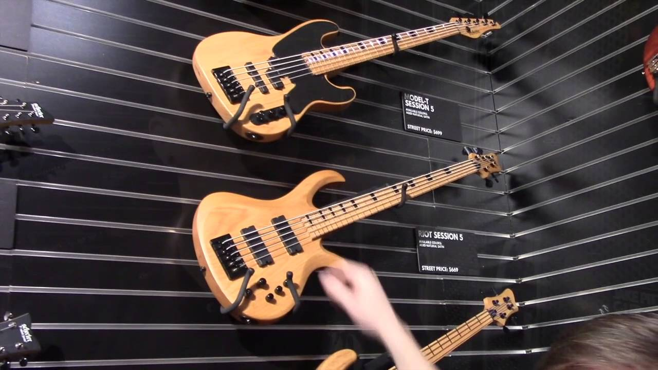 Bass Musician Magazine NAMM 2016 - Schecter Guitar ...
