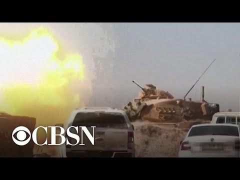 Turkey intensifies attacks on Kurds in Syria
