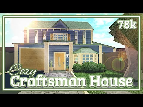 Bloxburg - Cozy Craftsman House Speed-build