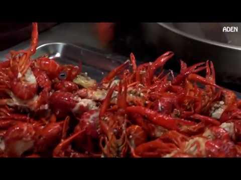 Straße Essen in China   Shenzhen
