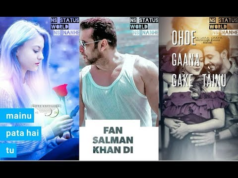 Mainu Pata Hai Tu Fan Salman Khan Di Full Screen Whatsapp Status || New WhatsApp Status 2019