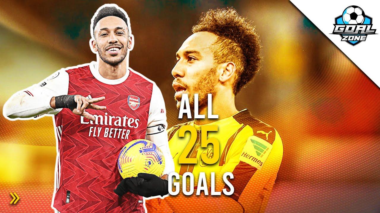 Download Pierre-Emerick Aubameyang - All 25 Goals in Europa League
