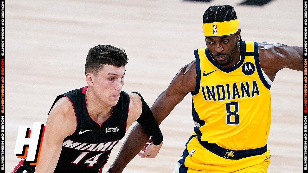 Miami Heat vs Indiana Pacers - Full Game Highlights | August 14, 2020 | 2019-20