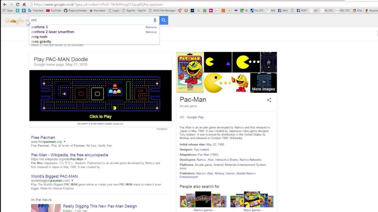 Ini Dia 5 Game Rahasia Yang Disembunyikan Google 5 Google