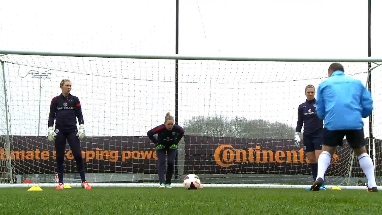 KEEPER WORKOUT  England Womens  goalkeepers put through paces ahead ... 689b0ac823