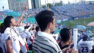 The Tokyo Yakult Swallows Baseball Umbrella Celebration