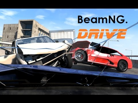 BeamNG. Drive - Dashcam Crashes Compilation 16 [Real Voices]