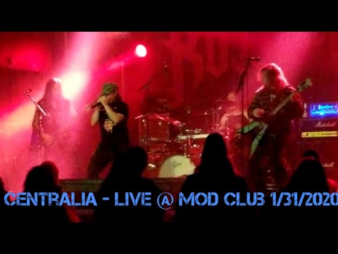 Answer With Metal - Centralia Live @ Mod Club 1/31/2020