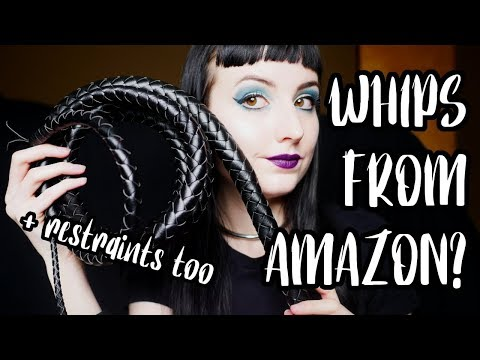 Whips & Restraints From Amazon: Are They Worth It?