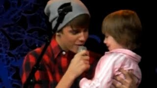 Justin Bieber and Jazmyn Bieber At Massey Hall :)