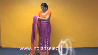 Ready Made Sari / Pre Stitched sari / easy to wear sari