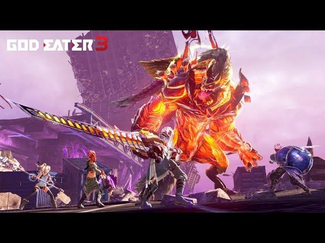 God Eater 3 - Battle Trailer - SWITCH