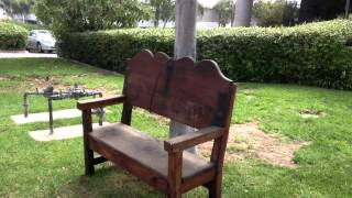 Benches San Diego Rustic - Solid Wood