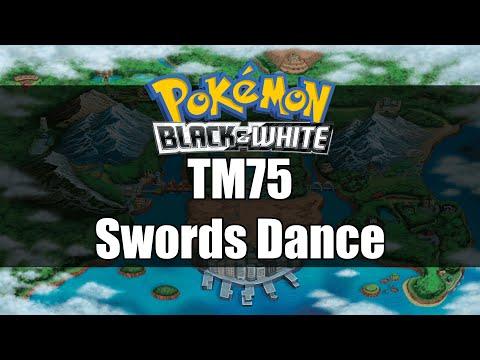 Pokemon Black And White   Where To Get TM75 Swords Dance