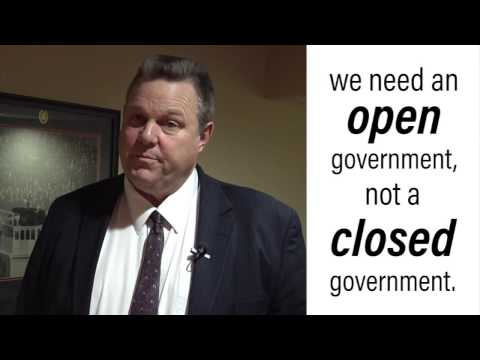Tester Condemns Administration Decision to Limit Access to Public Information