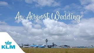 An Airport Wedding: Part 1 - Meet Jocelyne & Pieter