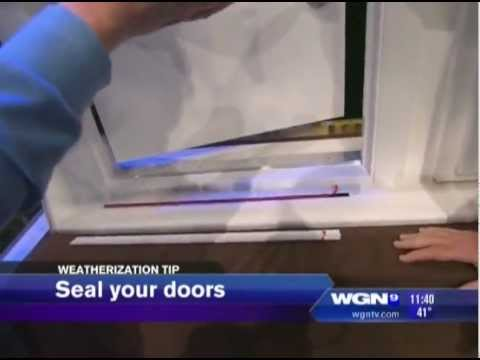 Genial Cinch Door Seals News   11 14 12 WGN Chicago IL