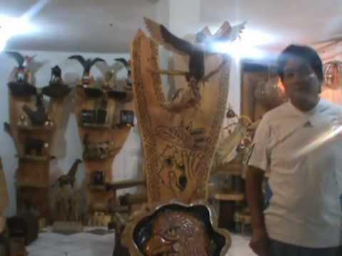 Artesanias de bamb y madera en ecuador mirar en la pagina for Artesanias en madera