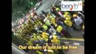 BERSIH 2.0 Theme Song - FREEDOM with Lyrics