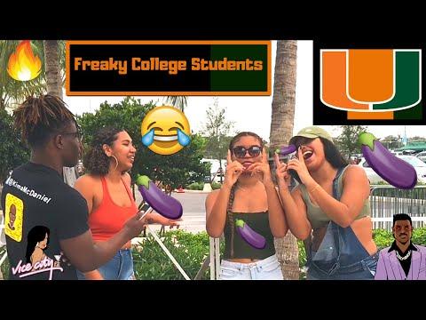 Freaky College Students | University of Miami