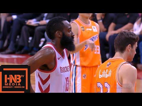 Houston Rockets vs Shanghai Sharks 1st Qtr Highlights | 10.09.2018, NBA Preseason