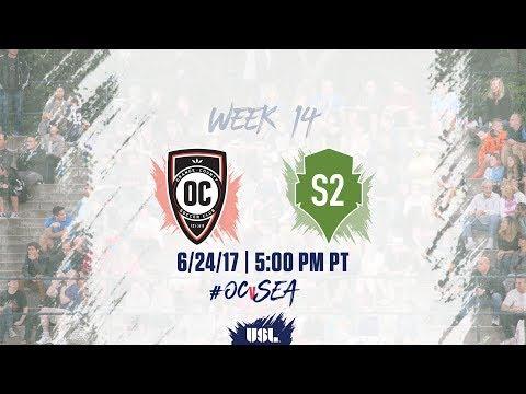 USL LIVE - Orange County SC vs Seattle Sounders FC 2 6/24/17