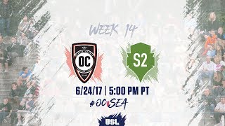USL LIVE - Orange County SC vs Seattle Sounders FC 2 6/24/17 thumbnail