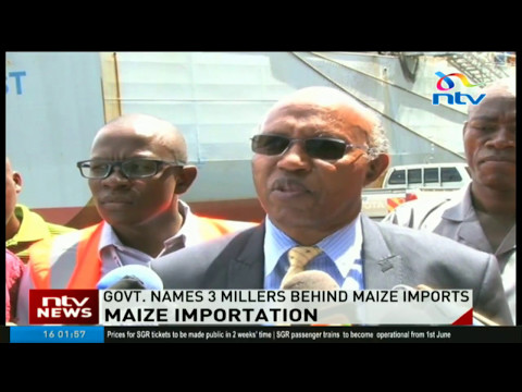 Government names 3 millers behind maize imports from Mexico