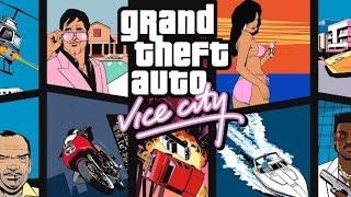 Музыка из заставки GTA Vice City PS2 2002 год  2