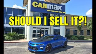 I Took My Camaro to CarMax For an Appraisal