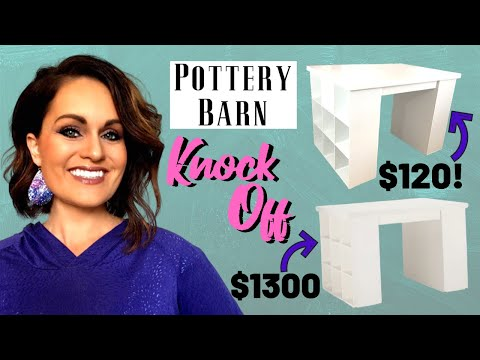 ⭐how-to-diy-craft-table-with-storage-on-a-budget-|-pottery-barn-knock-off