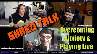 Overcoming Social Anxiety and Playing Live - Herman Li, Jared Dines and Steve Terreberry