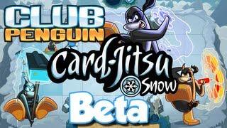 Club Penguin Card Jitsu Snow Beta Testin...