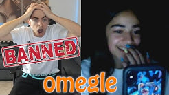 I GOT BANNED FROM OMEGLE
