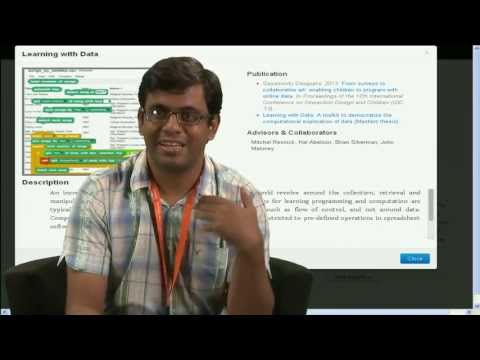 Sayamindu Dasgupta interview (Scratch Conference 2013)