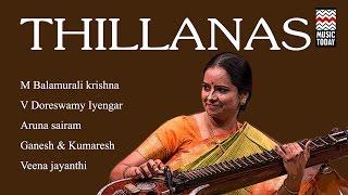 Thillanas | Audio Jukebox | Vocal | Carnatic | Various Artists