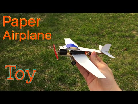 Homemade Airplane - (Toy, Paper, Electric plane)