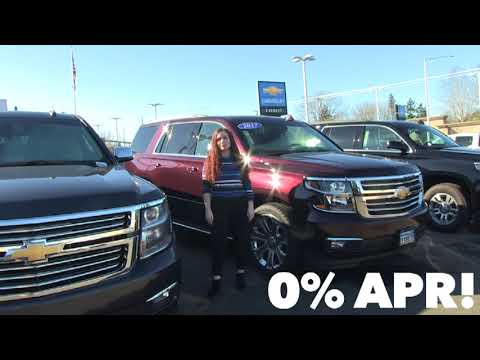 LAST CALL | 0% APR on 2018 Tahoe & Suburban