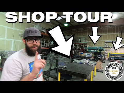 Welding Fabrication Shop Tour (Behind The Scenes)