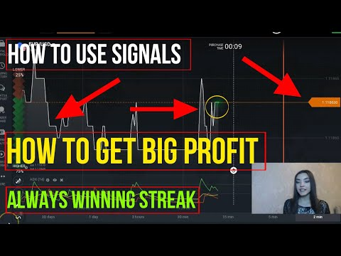 HOW TO GET PROFIT WITH BINARY OPTIONS TRADING SIGNALS