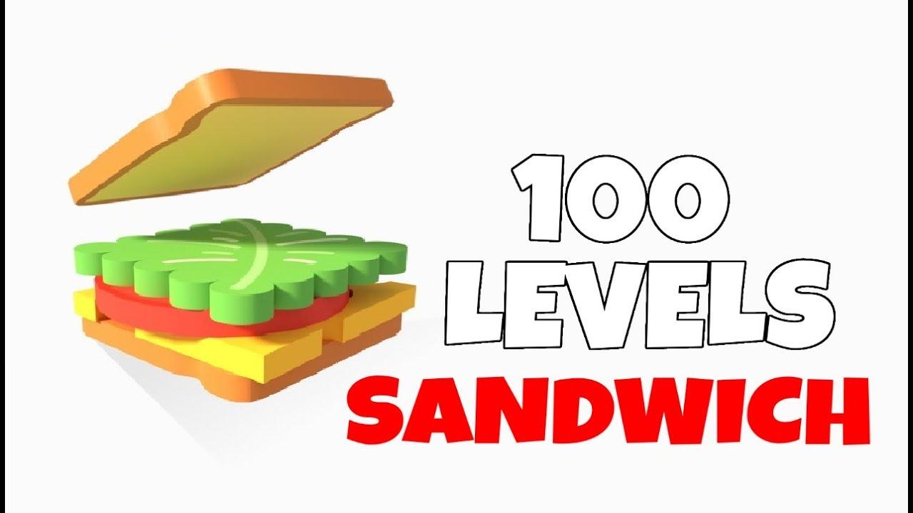 Sandwich! Level 1-100 Walkthrough | Popcore Games - YouTube