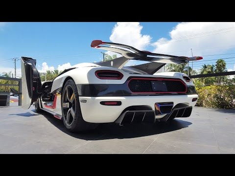 koenigsegg-one:1-world's-most-expensive-megacar-&-fastest-car-at-prestige-imports-miami-only-1-in-us