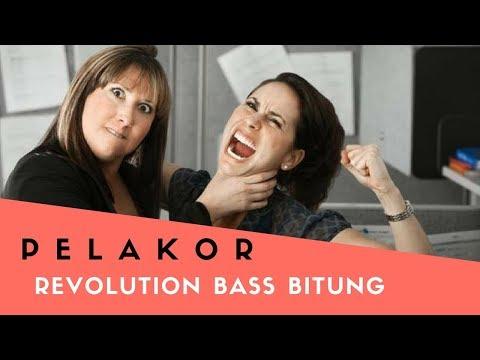 DJ PELAKOR  REVOLUTION BASS BITUNG  TERBARU 2018 FULL BASS