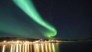 Aurora over Tromsø - Arctic Norway northern lights