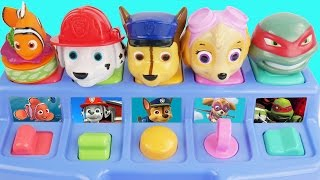 Paw patrol pop up toys for kids
