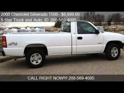 2000 chevrolet silverado 1500 reg cab long bed 4wd for sa youtube. Black Bedroom Furniture Sets. Home Design Ideas