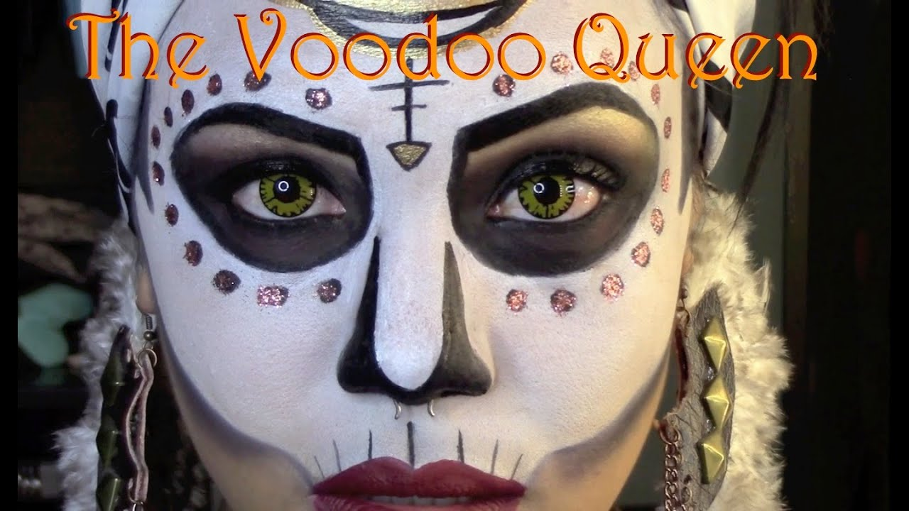 Halloween tutorial the voodoo queen official killjoyy youtube baditri Images